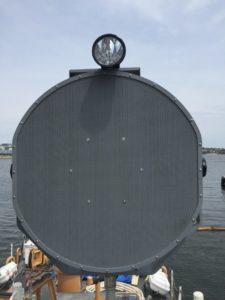 IRAD 1000XI Testing: 110' USCG Cutter