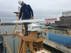 Transas Navi Sailor 4000 ECDIS Radar Installation